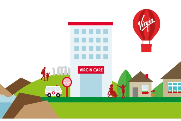 Virgin Care Logo Case Study