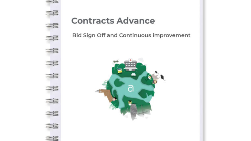 Bid sign off and continuous improvement stage of our 7 stage bid process
