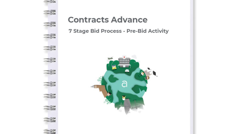 Pre-bid activity stage of our 7 stage bid process