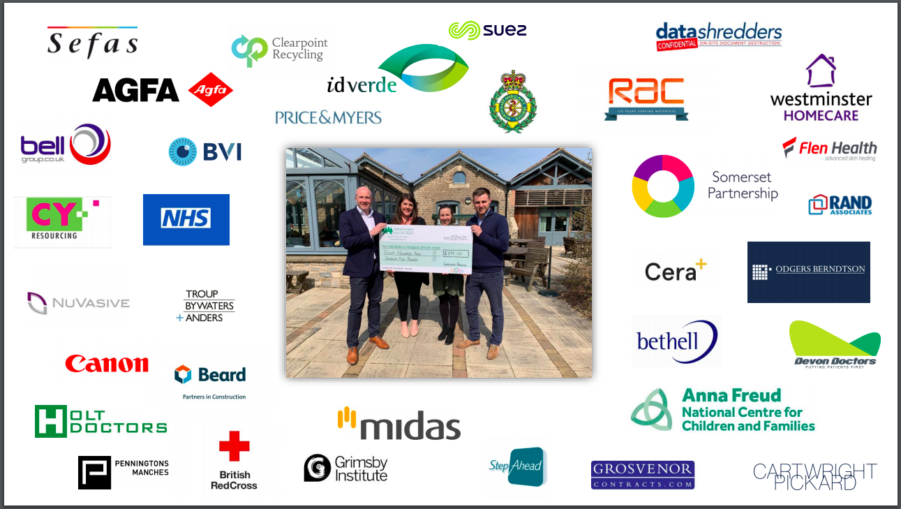 Businesses that have helped Contract Advance raise money for CHSW