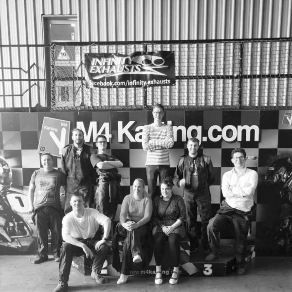 Team day out, go-karting